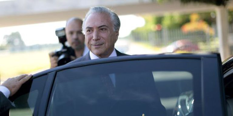 Michel Temer, vice-presidente e líder do PMDB, principal aliado do Governo.