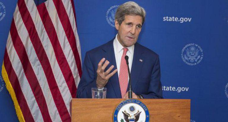 O secretário de Estado norte-americano, John Kerry.