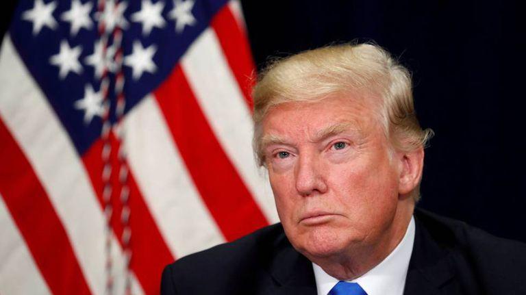 O presidente Donald Trump em 25 de outubro