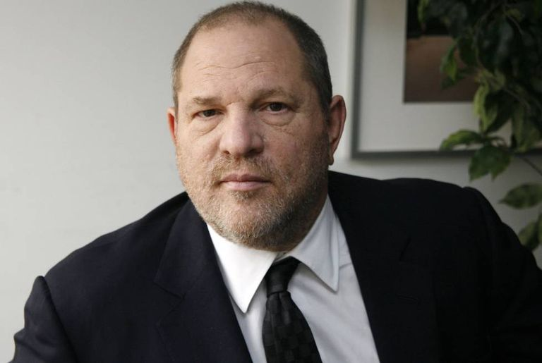 Harvey Weinstein em Nova York.