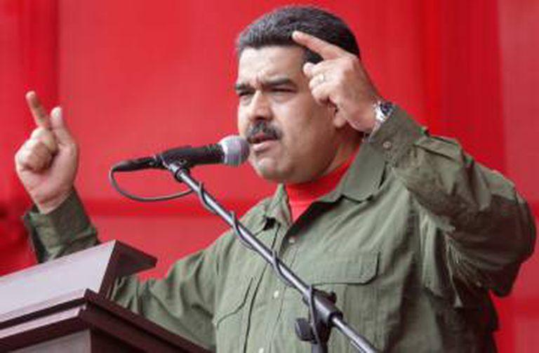 O presidente de Venezuela, Nicolás Maduro.