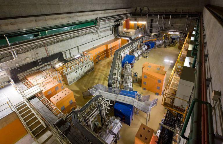Instalações do laboratório Nishina, local das pesquisas com o elemento 119.