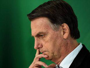 O presidente eleito, Jair Bolsonaro, no dia 7 de novembro em Brasília.
