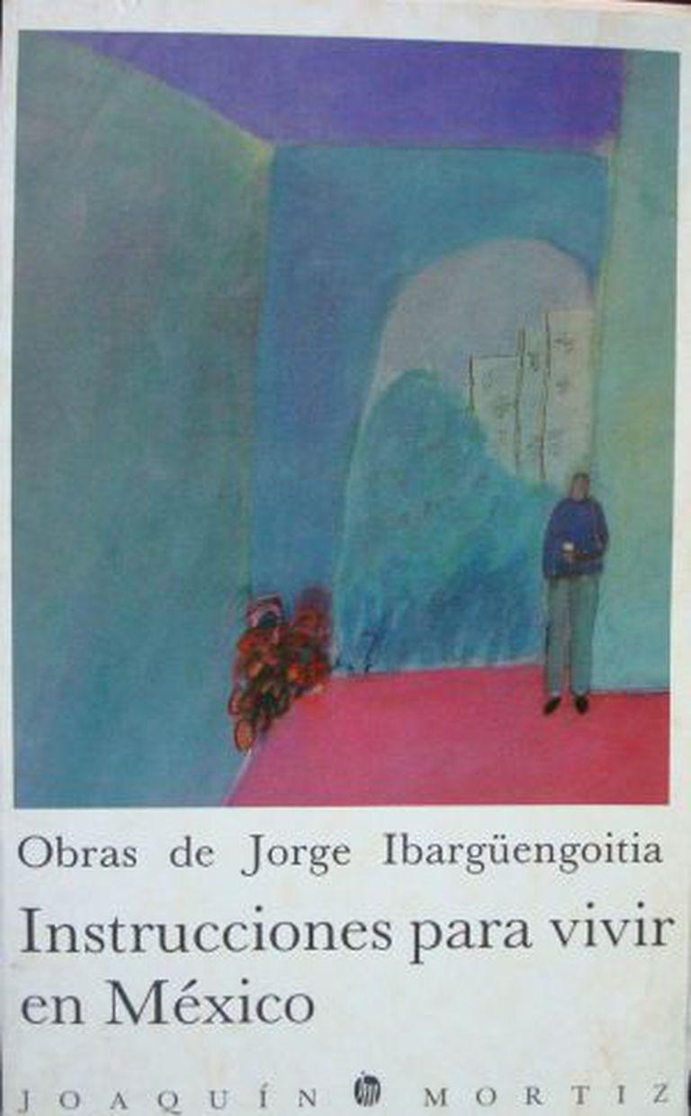Detalhe de uma das capas de 'Instruções para viver no México', de Ibargüengoitia.