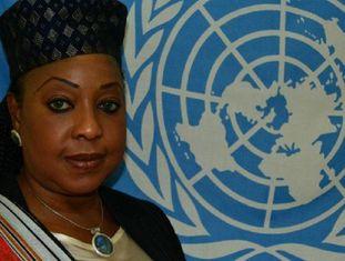Fatma Samoura, em imagem das Nações Unidas.