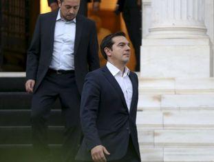 Alexis Tsipras, na quarta-feira em Atenas.