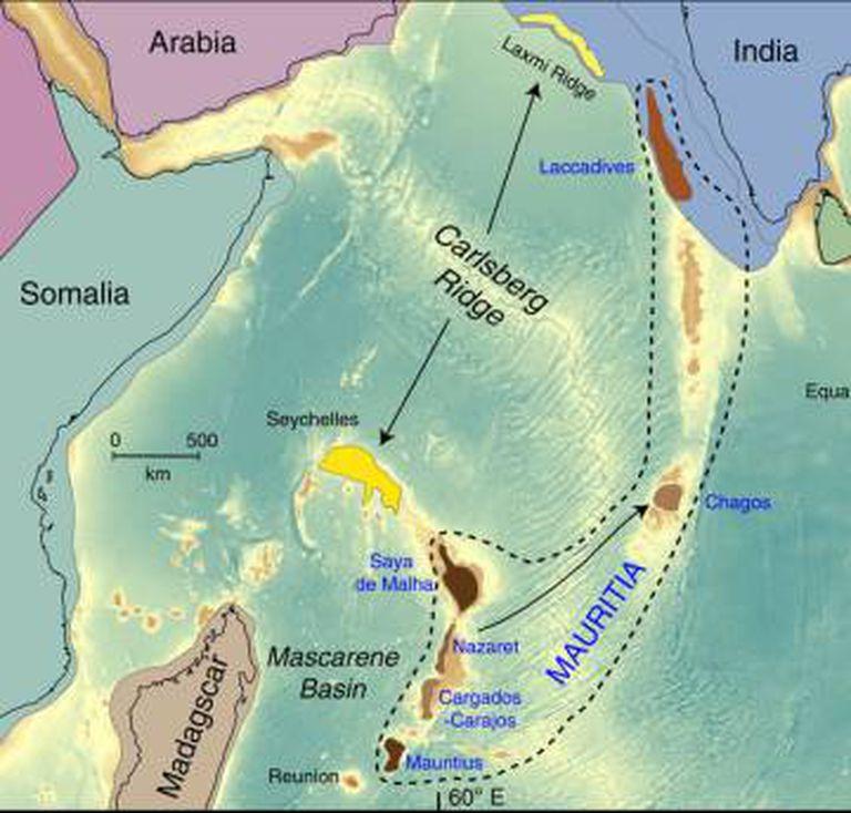 Localização do 'continente perdido'