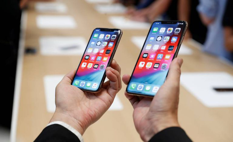 Modelo Apple iPhone XS e XS Max.
