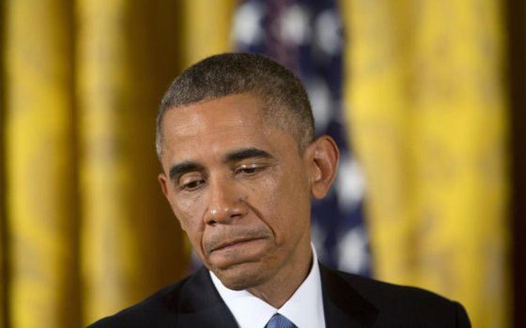 O presidente Obama na Casa Branca.