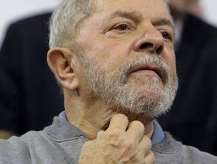 Lula em São Paulo.