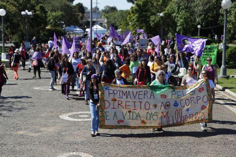 4ª Marcha Internacional Mundial das Mulheres em Santana do Livramento, em setembro.
