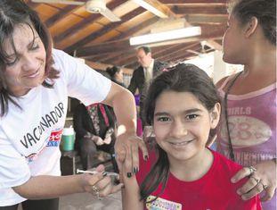 Campanhas de vacinação são festa na América Latina.