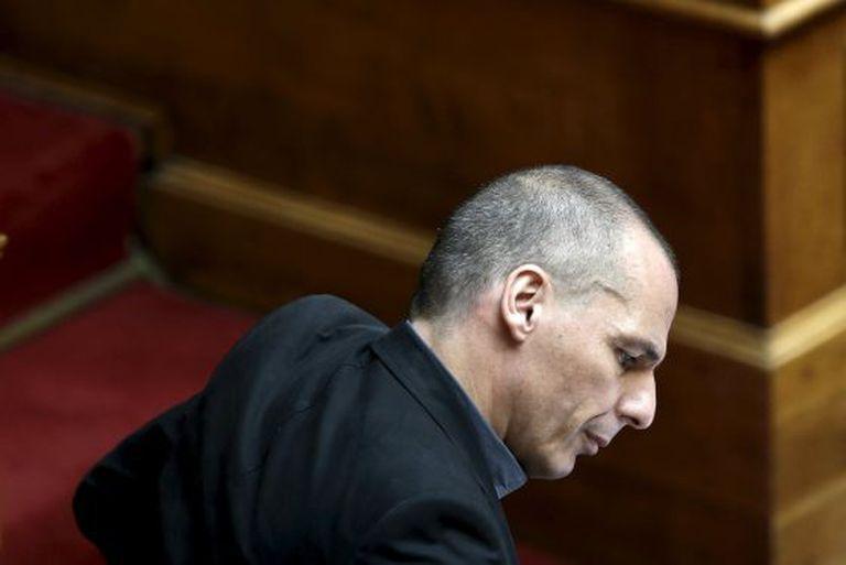 Yanis Varoufakis em Atenas.