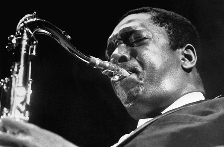 John Coltrane em Amsterdã, em 1962.