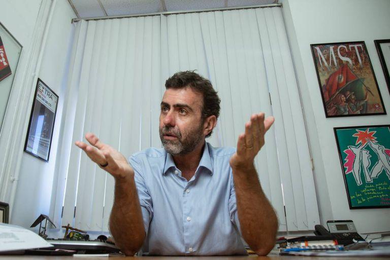 O deputado Marcelo Freixo (PSOL-RJ), em janeiro deste ano.