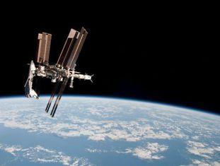 A Estação Espacial Internacional, em uma imagem de arquivo.