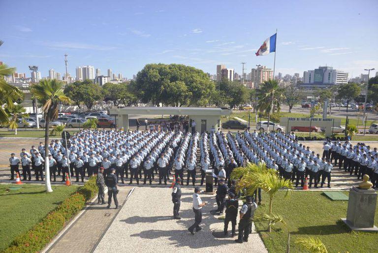 Polícia Militar do Ceará incorporou 373 novos soldados para reforçar a segurança, após ataques