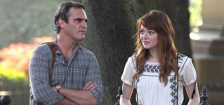 Joaquin Phoenix e Emma Stone em 'Homem Irracional'.