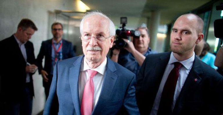 O promotor geral da Alemanha, Harald Range, em Berlim.