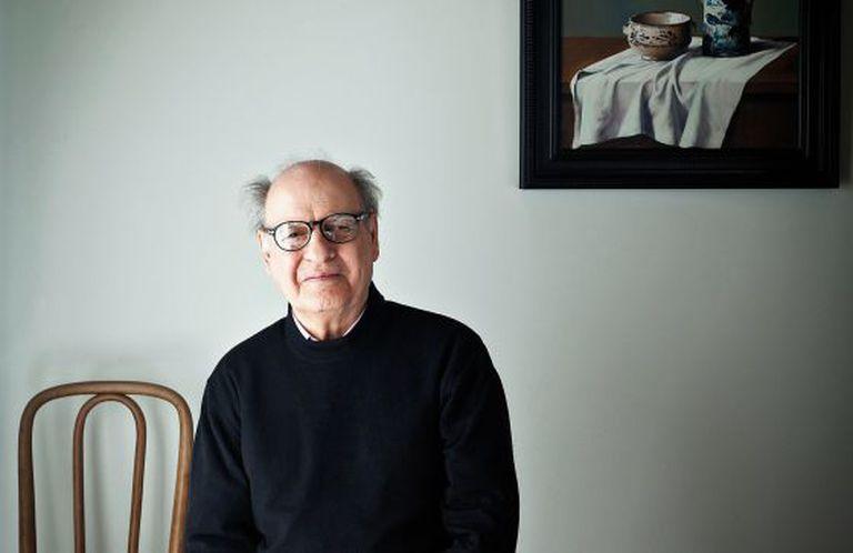Joaquín Salvador Lavado, Quino, em sua casa em Buenos Aires (Argentina).