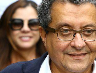 João Santana, ao ser detido em fevereiro.