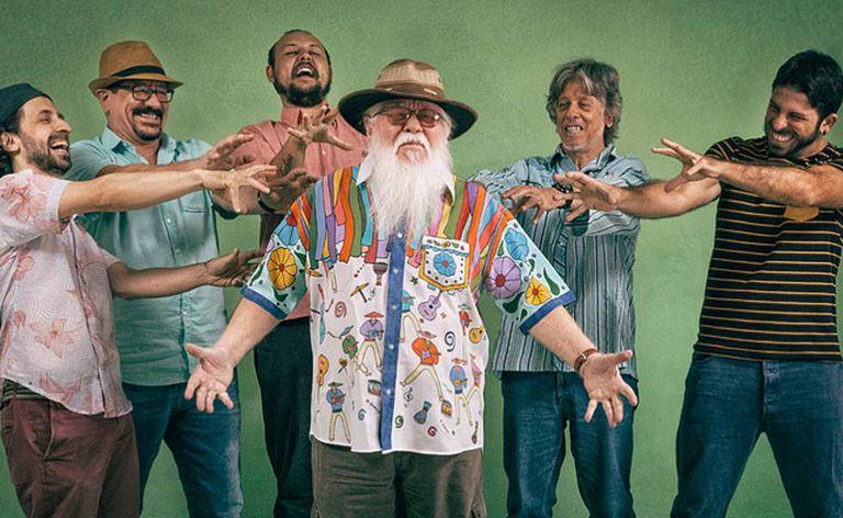 O músico brasileiro Hermeto Pascoal é uma das atrações do festival