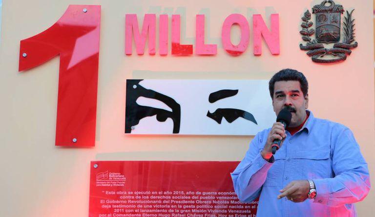 Maduro, em foto cedida pelo Governo.