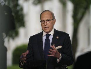 O conselheiro econômico da Casa Branca, Larry Kudlow.