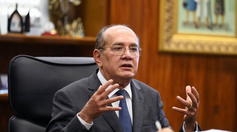 Ministro Gilmar Mendes, em seu gabinete no STF, no dia 15 de outubro de 2019.