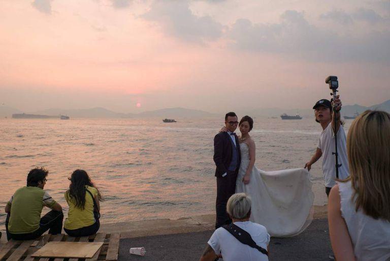 Casamento em Hong Kong.