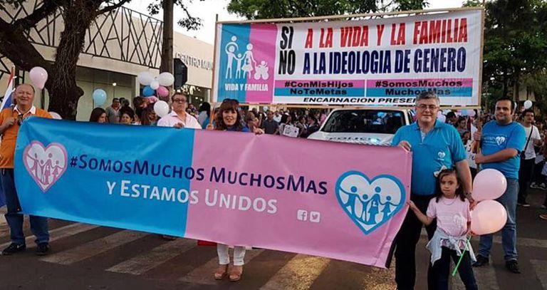 Marcha do movimento na Argentina.