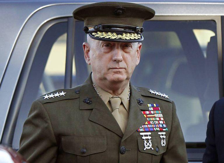 James Mattis, em uma foto de 2010.