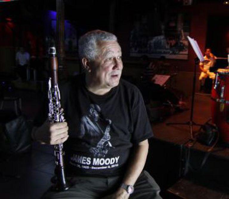O músico Paquito D'Rivera.