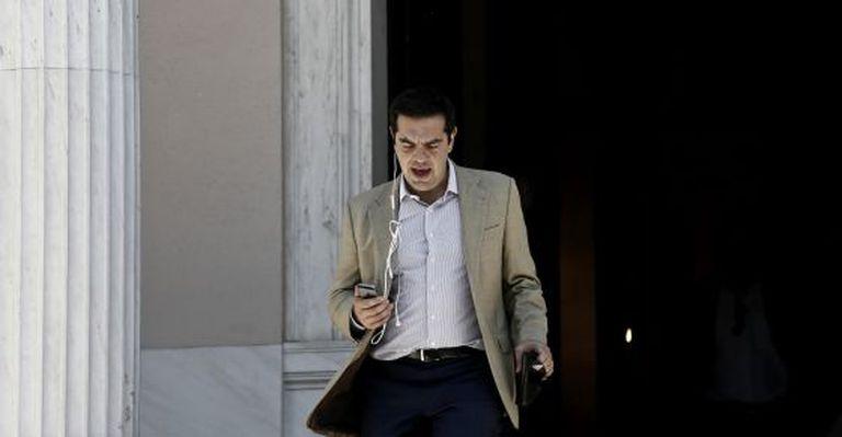 Alexis Tsipras, nesta sexta-feira em Atenas.
