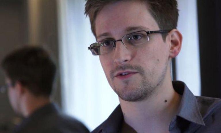 Edward Snowden durante uma entrevista em junho de 2013.
