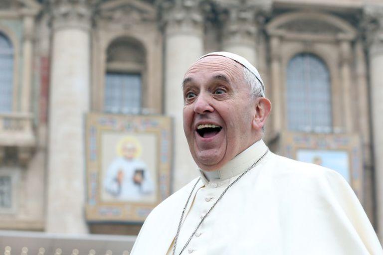 O papa Francisco no Vaticano.