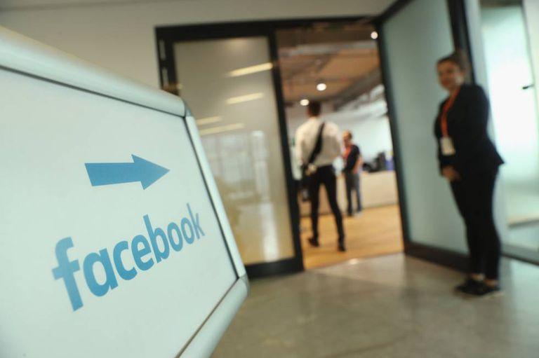 Escritórios do Facebook em Berlim.