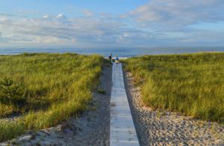 Praia de Westhampton, em Long Island (Nova York).