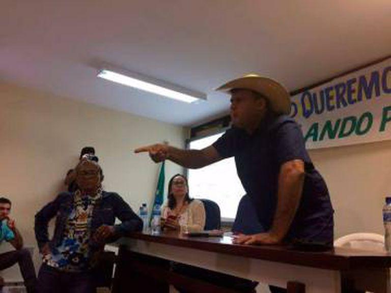 O prefeito de Senador José Porfírio (PA), Dirceu Biancardi, fez fala a favor da mineradora canadense Belo Sun.