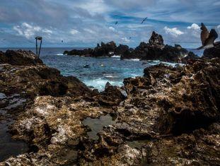 Arquipélago de São Pedro e São Paulo, uma das áreas a ser protegida.
