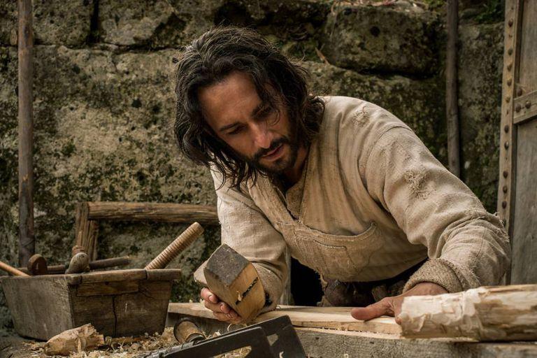 O brasileiro Rodrigo Santoro no papel de Jesus em 'Ben-Hur'