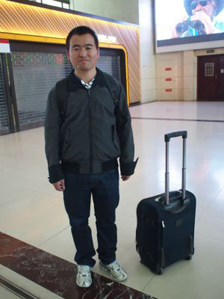 Wu Jixian, de 31 anos, veio de Las Palmas, em Grã Canária.