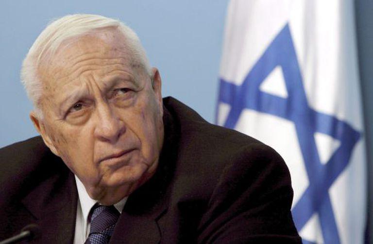 Ariel Sharon, em 2005.