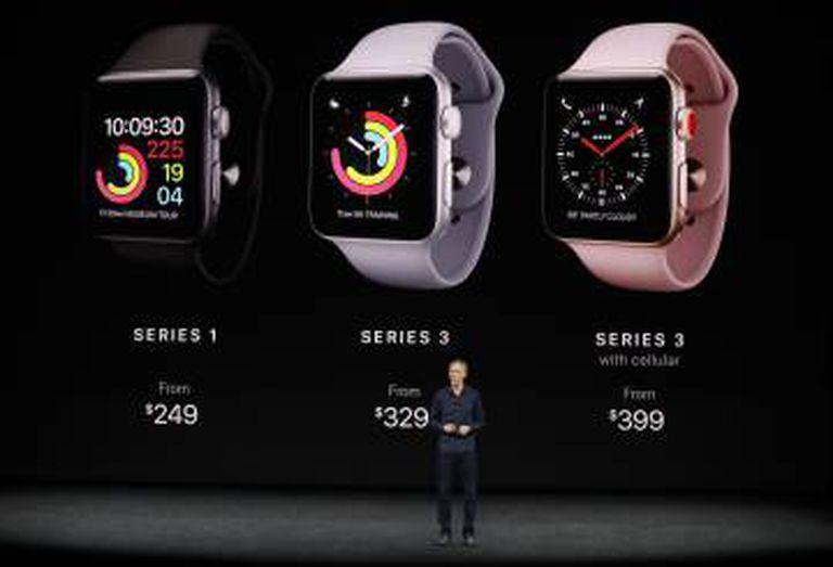 O novo Apple Watch.