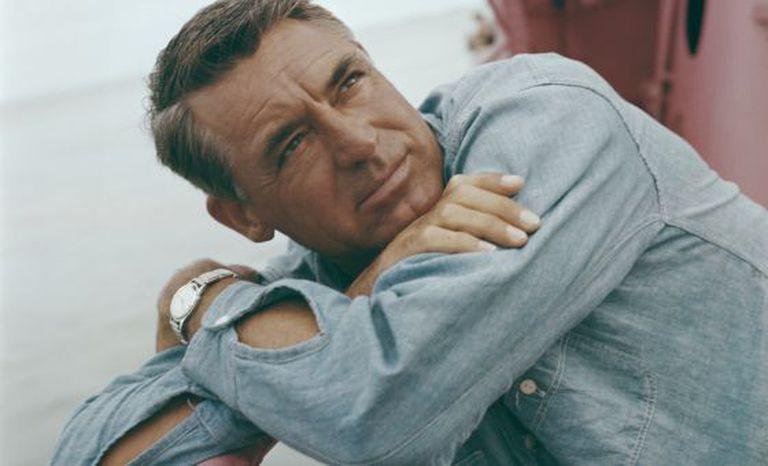 Cary Grant, em uma imagem de 1955.