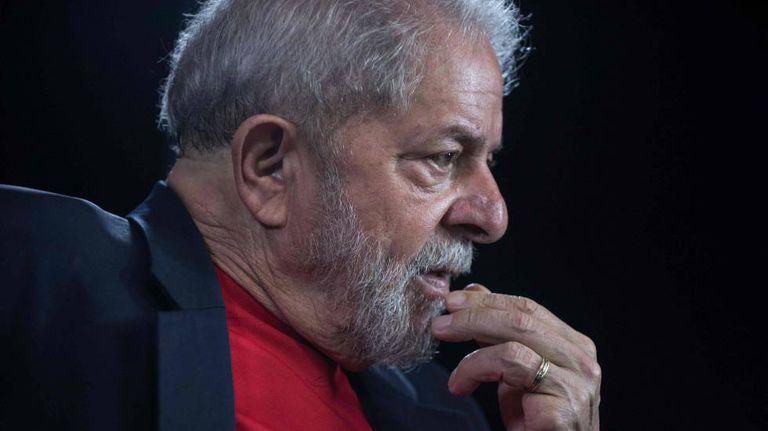 O ex-presidente Lula durante entrevista no Instituto Lula no dia 1º de março