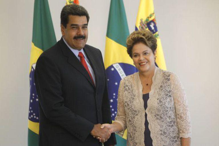 Maduro se reúne com Dilma após posse.