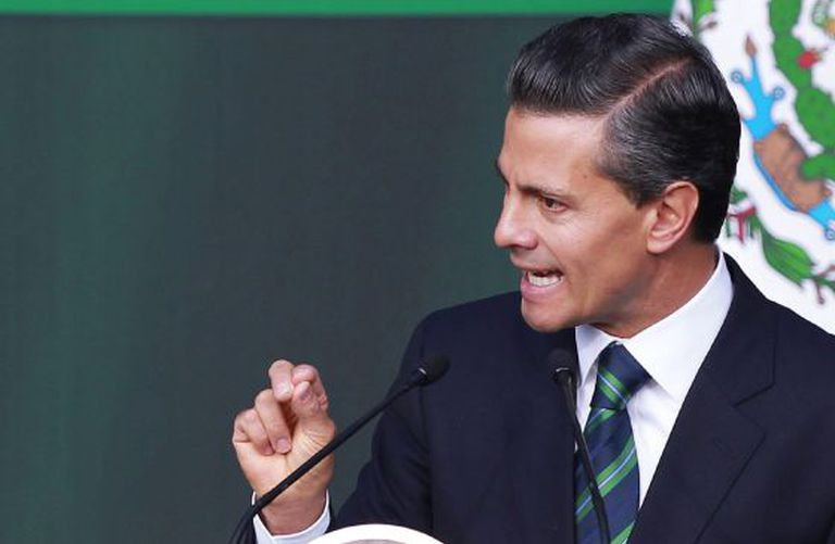 O presidente de México, Enrique Peña Nieto.