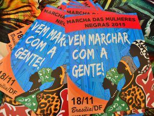 Cartaz da Marcha das Mulheres Negas deste ano.