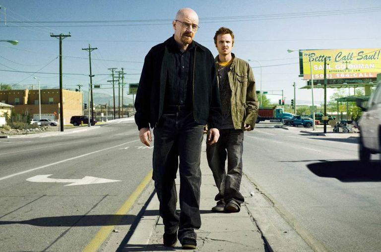 Walter White e Jesse Pinkman, protagonistas de 'Breaking bad'.